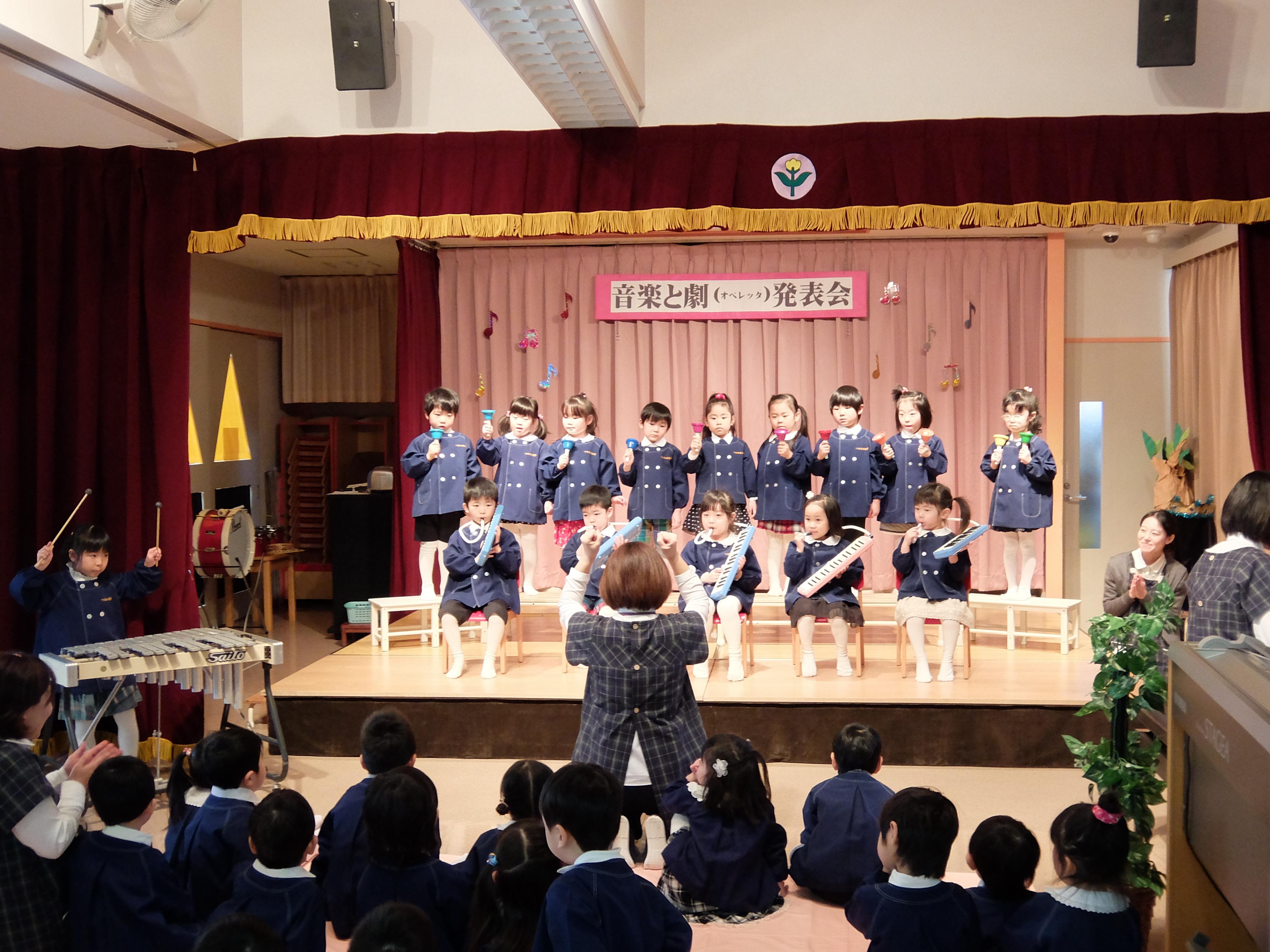音楽と劇の発表会リハーサル&手作りお弁当の日