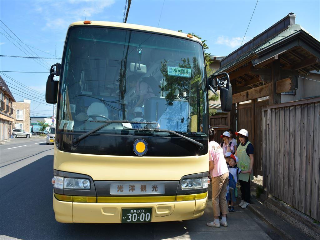 ゆり組・ばら組バス遠足(浅虫水族館)