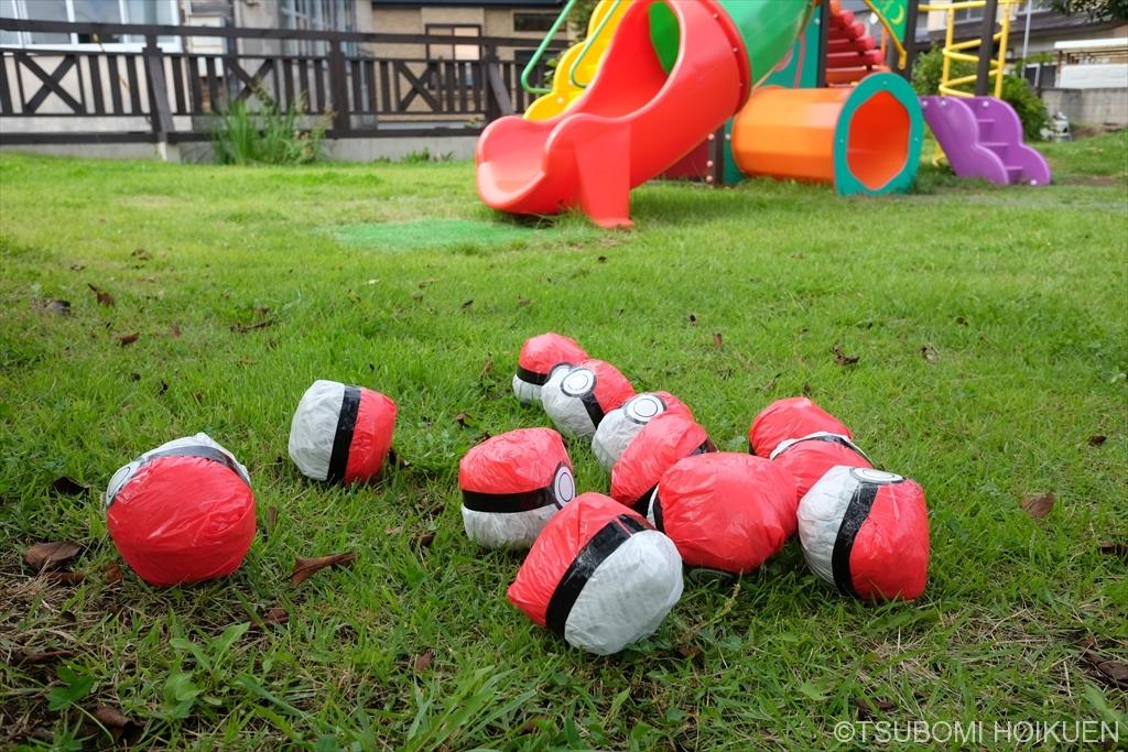 手作りのモンスターボールでポケモンGO!